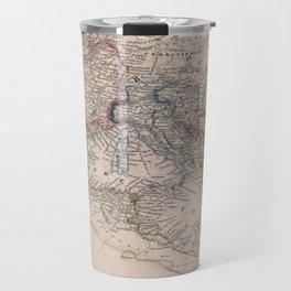 Vintage Map of The Roman Empire (1852) Travel Mug