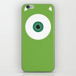 PIXAR CHARACTER POSTER - Mike Wazowski 2 - Monsters, Inc. iPhone Skin