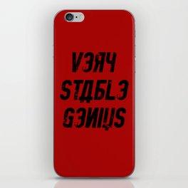 Very Stable Genius Red iPhone Skin