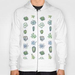 One Dozen Succulents Hoody