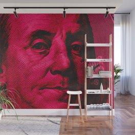 Benjamin Dark (pink) Wall Mural