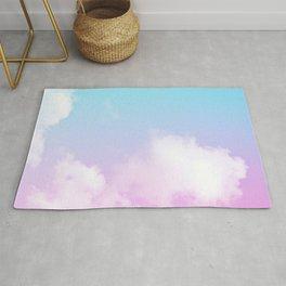 Pink Summer Clouds Rug