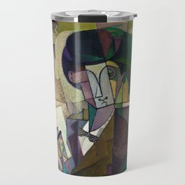 Young Man with a Fountain Pen by Diego Rivera (1914) Travel Mug