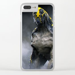 Abandoned Alien 01 Clear iPhone Case
