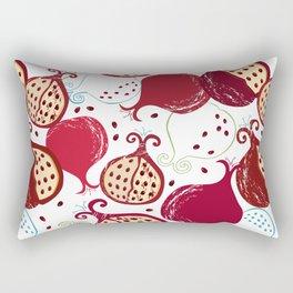 Juicy Pomegranate pattern Rectangular Pillow