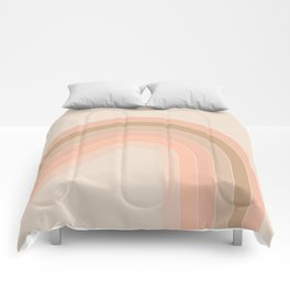 Soft Light Corner Bow Comforters
