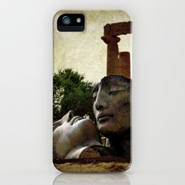 'Hermanos' in The Valley of The Temples iPhone Case