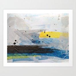 Dusty Sea Art Print