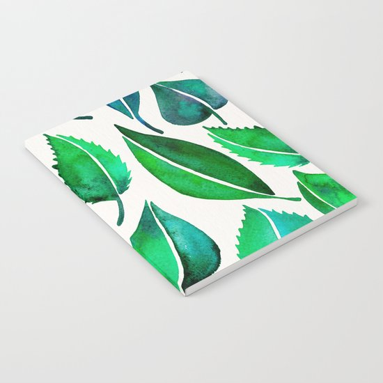 Summer Leaves Notebook