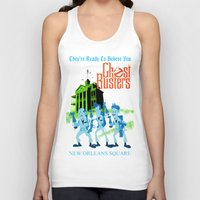 ghostbusters Tank Tops featuring Hitchhiking Ghostbusters by Sam Carter AKA Cartarsauce