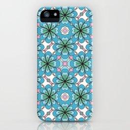 Floral Lattice iPhone Case