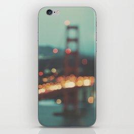 San Francisco Golden Gate Bridge, Sweet Light iPhone Skin