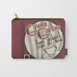 I Can't Get Started Carry-All Pouch
