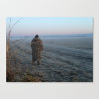 bigfoot Canvas Prints featuring Bigfoot? by Randy Sager