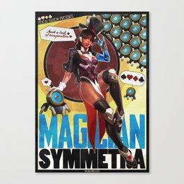 Magician Symmetra Canvas Print