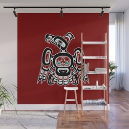 Northwest Pacific coast Kaigani Thunderbird Wall Mural