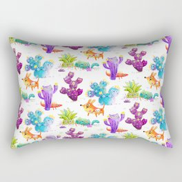 Catcti fiel Rectangular Pillow