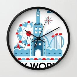 My world Wall Clock