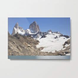 Mount Fitz Roy Metal Print
