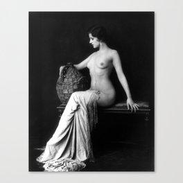 Ziegfeld Follies Girl Canvas Print