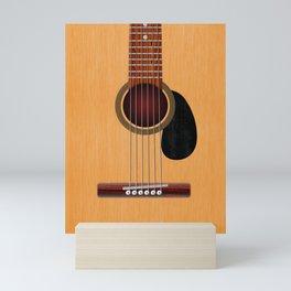 Acoustic Guitar Mini Art Print