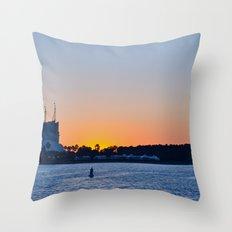 Downtown Disney Sunset II Throw Pillow