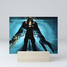 """""""Unclouded by conscience, remorse, or delusions of morality."""" Mini Art Print"""