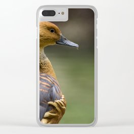 Duck And Drop Clear iPhone Case
