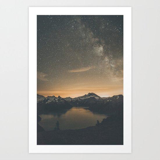 Garibaldi Milky Way Art Print