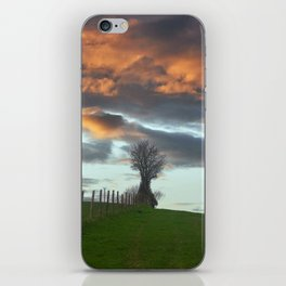 ON THE HILL iPhone Skin