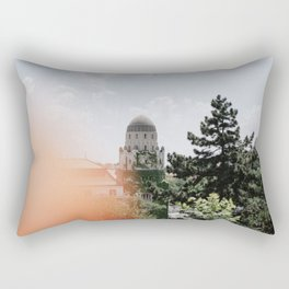 budapest with a little flare Rectangular Pillow