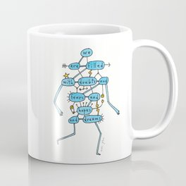 doubts and fears and hopes and dreams Coffee Mug