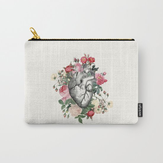 Roses for her Heart Carry-All Pouch