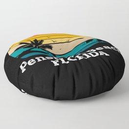 Pensacola Beach FLORIDA Floor Pillow