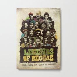 Legends of Reggae Poster Metal Print