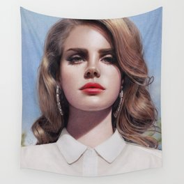Lana - Born To Die Wall Tapestry