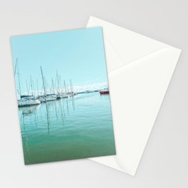 Let's Sail   City Photography Stationery Cards