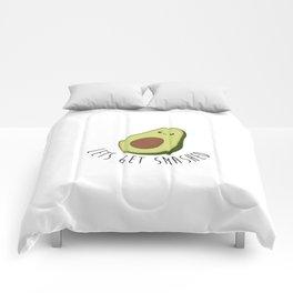 Lets Get Smashed! - Avocado Comforters