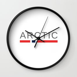 Arctic Norway Wall Clock