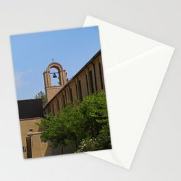 Lourdes University  in the Spring III Stationery Cards