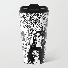 Real housewives pt. 2 Metal Travel Mug