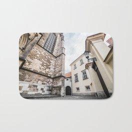 Random Streets in Old Brno Bath Mat