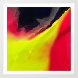 Digital Abstraction 015 Art Print