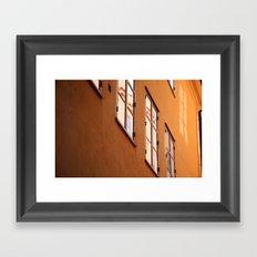 Stockholm Windows Framed Art Print