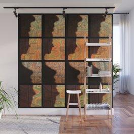Fax Shadow Wall Mural