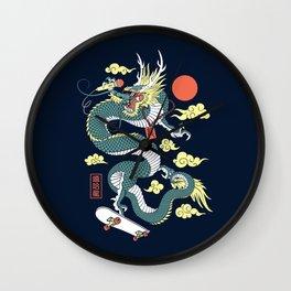Hip Hop Dragon Wall Clock
