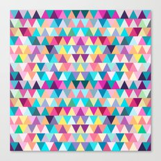 Triangles #4 Canvas Print