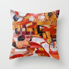 Spooning de Kooning (Provenance Series) Throw Pillow