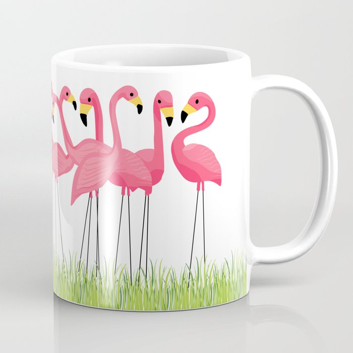 Cuban Pink Flamingos Coffee Mug