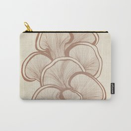 Mushrooms in Copper Carry-All Pouch